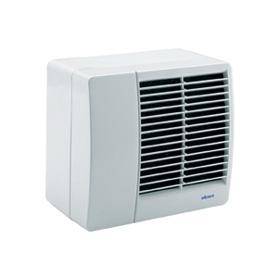 Montering af ventilator i væg